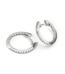 Criolles or blanc i brillants Fifteen Oval
