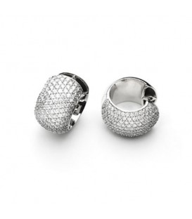 Criollas oro blanco y brillantes Twenty Luxury
