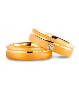 Aliança boda or groc Blend