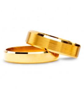 Aliança boda or groc Girtab