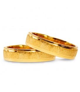 Aliança boda or groc Sigma