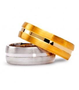 Aliança boda or groc Royal Oak