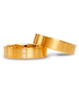 Alianza boda oro amarillo Blend