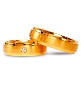Aliança boda or amarillo New Side