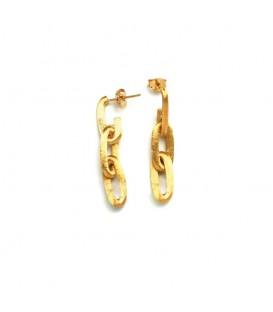 Pendientes oro amarillo Nanis