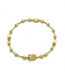 Pulsera oro con diamantes 0,20