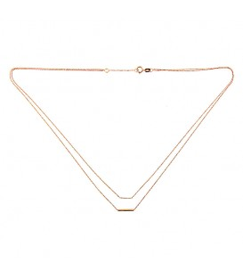 Collar oro rosa Pink & Gold